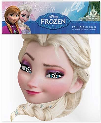 Kids Stars Die Eiskönigin - Völlig unverfroren (Frozen) - ELSA - Gesichtsmasken aus steifen Karten - Offizielles Produkt von Disney