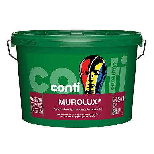 Conti Murolux Silikonharz-Fassadenfarbe weiß 12,5 Liter