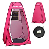 SGODDE Pop Up Privacy Shower Tent,Instant Portable Outdoor Shower Tent Camp Toilet, Changing