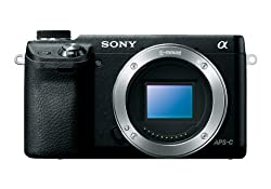 Sony NEX-6/B Mirrorless Digital Camera- Best Vlogging Camera for Beginners