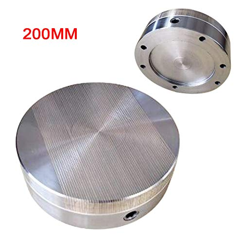 Great Features Of Gdrasuya10 7.87 Round Magnetic Chuck for Surface Grinder Magnetic Drill Press Chu...