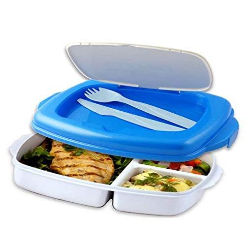 Restez Fit DLX Cereal pour Go EZ Gel Récipient en Plastique Cool Gear petit déjeuner Set 4