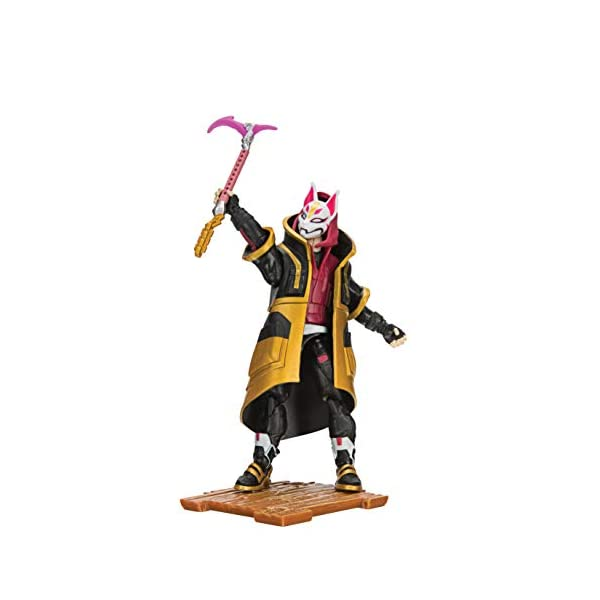 Jazwares- Fortnite Figura Solo Mode Deriva (Drift), Multicolor (FNT0012) , color/modelo surtido 3