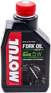 Motul MTL105929 5W Fork Oil (Expert Light), 33.81 Fluid_Ounces