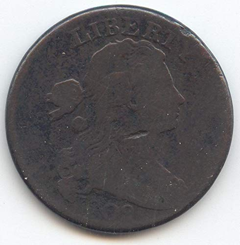 1802 Draped Bust Large Cent Very Good Details