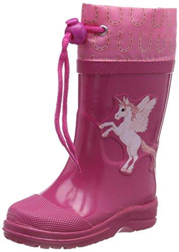Beck Mädchen Unicorn Gummistiefel, Pink (Pink 06), 27 EU