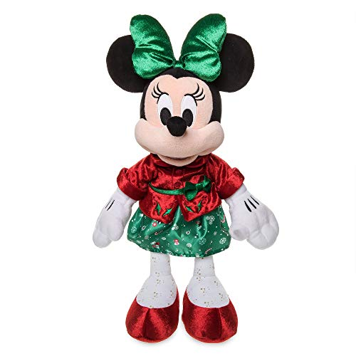 Disney Store Minnie Mouse Holiday Cheer Peluche Mediano 43cm