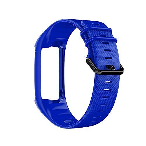 Correa de Repuesto de Pulsera Inteligente de Hebilla Negra para A360/A370 Correa de Repuesto Elástica de Reloj Inteligente Hecha en Gel de Sílice Color Múltiple para Elegir