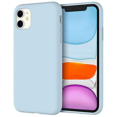 JETech Silicone Case for Apple iPhone 11 (2019) 6.1-Inch, Silky-Soft Touch Full-Body Protective Case, Shockproof Cover with Microfiber Lining