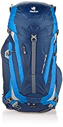 Deuter ACT Trail Pro 40 is another good backpack for travel. The Deuter brand got positive points on our backpack review.