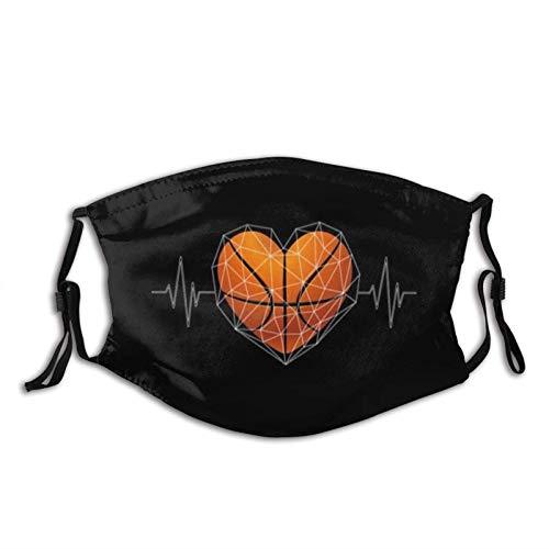 Mascarilla de baloncesto con 2 filtros ajustables lavables adultos moda bufandas pasamontañas protección caliente máscara