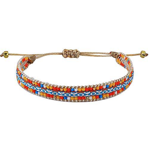 C·QUAN CHI Bracelet Amitié De Perle Miyuki Fil pour Bracelet Chains Handmade Bracelets Manchettes pour Femme