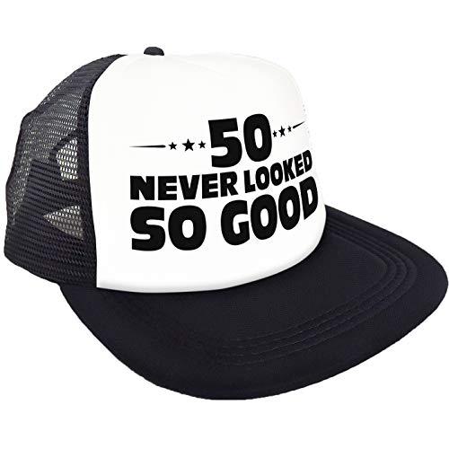 "Sterling James Co. ""50 Never Looked So Good"" Kappe – 50. Geburtstag Party Accessoires, Ideen und Dekoration – lustige Geburtstage"
