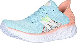 in budget affordable New Balance Fresh Foam 1080 V10 Women's Sneakers, Bali Blue / Ginger Pink, 8.5 M US