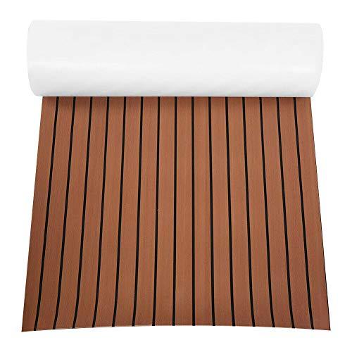 Suelo antideslizante de espuma EVA, base de madera de teca para yate y barco de 6 mm