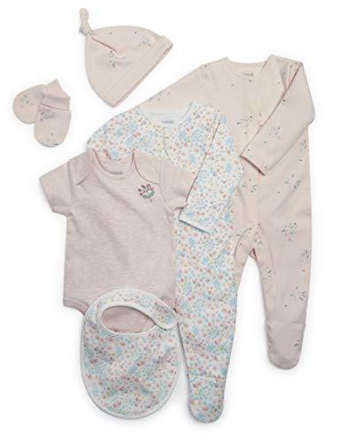 Mamas and Papas Floral Frill Sleeve Romper Combinaison B/éb/é Fille