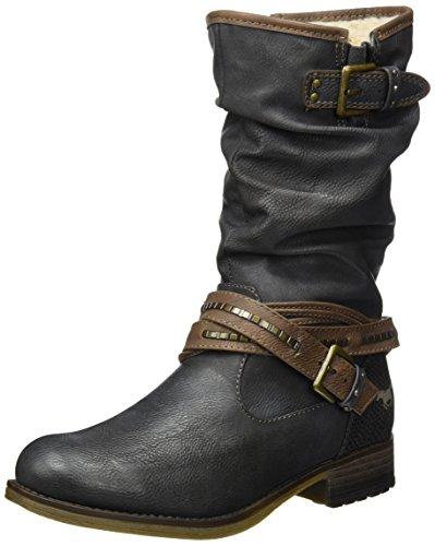 MUSTANG Damen 1139-624 Stiefel, Grau (Graphit), 39 EU