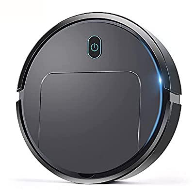 Robot Vacuum,Robotic Vacuums Cleaner with Self-Charging,with 360° Smart Sensor Protectio,Multiple Cleaning Modes Vacuum Best for Pet Hairs,Tile & Medium Carpet, Floor Cleaner irobot for Wood Floors