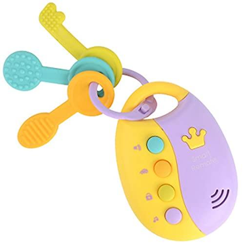 COSYOO Música Divertido Aprendizaje De Desarrollo Musical Llave De Coche Juguete Educativo Divertido Divertido Colorido Desarrollo De Plástico Juguete Preescolar Funky Toy Key