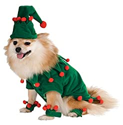 Dog Elf Costume with hat and footie wrist wraps