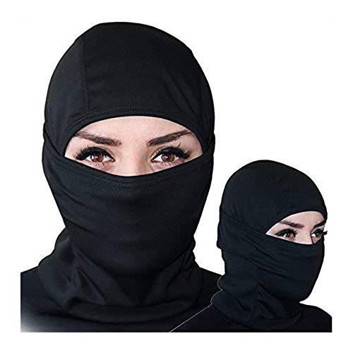 schwarze Farbe Balaclava Unter Helme Schutz Motorrad Tactical Ski-Gesichtsmaske, Skimaske Motorradmaske