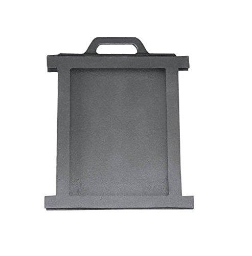 Luftregulierung Drosselschieber Rauchgasdrosselung für Backofen Ofen Pizzaofen Brotbackofen Holzofen Steinofen aus Gusseisen | Maße: 255x280 mm