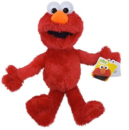 Marabella Elmo aus der Sesamstraße Kuscheltier Stofftier Teddy Plüschfigur Puppe 35cm