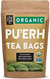 Organic Pu'erh Tea Bags | 100 Tea Bags | Eco-Conscious Tea Bags in Kraft Bag | by FGO