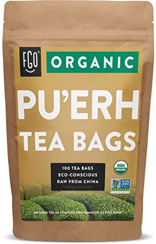 Organic Pu'erh Tea Bags