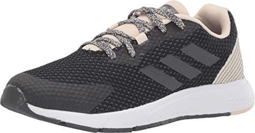 adidas Zapatillas de correr Sooraj para mujer, negro (Negro/Gris/Lino.), 42 EU
