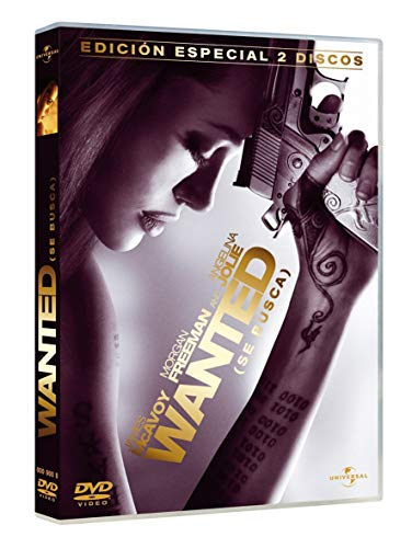 Angelina Jolie, James Mcavoy, Terence Stamp, Thomas Kretschmann, Morgan Freeman - Wanted (Se Busca) (Ed.Esp.) [Import espagnol] (1 DVD)