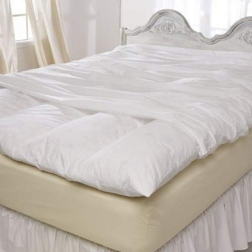 Pacific Coast Feather Bed Cover w Zip Closure California King 76in x 88in (Feather Bed not Included)