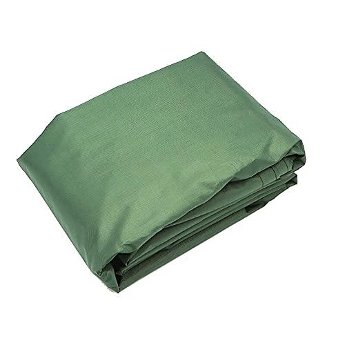 Sombrilla Vela Naranja 2'x 2'x 2m Terraza Triangular Con Tela Permeable Bloqueo De UV, Muy Adecuado Para Terraza Exterior Patio Trasero, Incluye 3 Protección Ocular-Personalizada (5*5*5,Dark green)