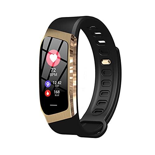 Pulsera inteligente, pantalla táctil completa de 0.96 ', podómetro a prueba de agua IP67 con rastreador de ejercicios con monitor de sueño y reloj inteligente para mujeres y hombres, reloj inteligen