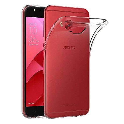 AICEK Asus Zenfone 4 Selfie Pro ZD552KL Hülle, Transparent Silikon Schutzhülle für Asus Selfie Pro ZD552KL Hülle Clear Durchsichtige TPU Bumper Zenfone 4 Selfie Pro ZD552KL Handyhülle (5,5 Zoll)