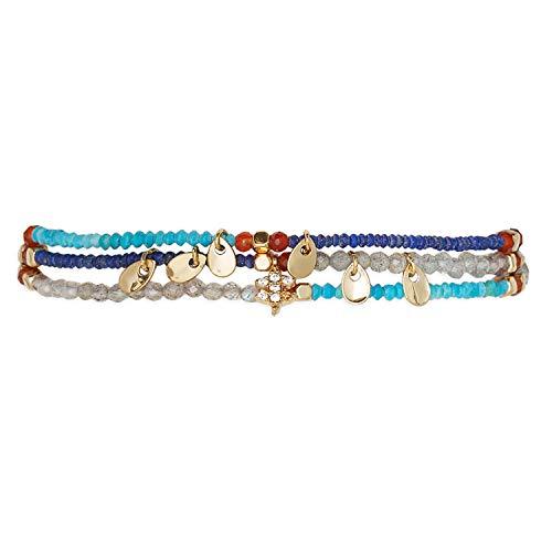 HIPANEMA Damen-Armband Parure Navy H19PARUNA