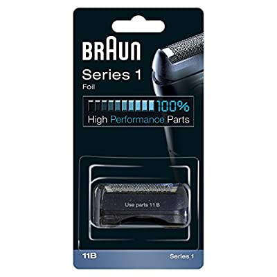 Braun 11B Electric Shaver Replacement Foil - Black by Procter & Gamble