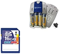 Nikon Coolpix L820 Digital Camera Accessory Kit includes: SB257 Charger, SD4/16GB Memory Card