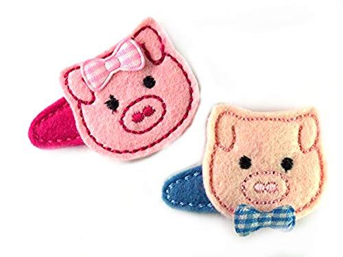 Schwein Haarspange für Kleinkinder - freie Farbwahl