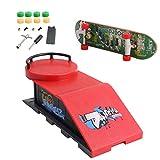 Reino Unido 1 Unidades Skate Park Kit Rampa Partes Para Tech Deck Finger Board Pasamanos Ultimate Sport Entrenamiento Props Juegos