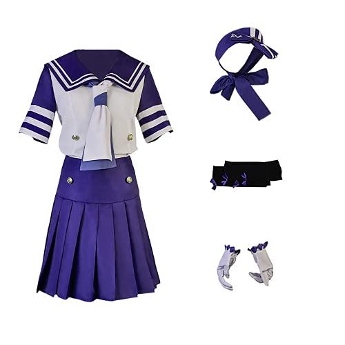 YUMITOP Juego de Terror Vera Nair / Emily Dyer / Helena Adams JK Traje de Uniforme para Disfraz de Cosplay de Halloween