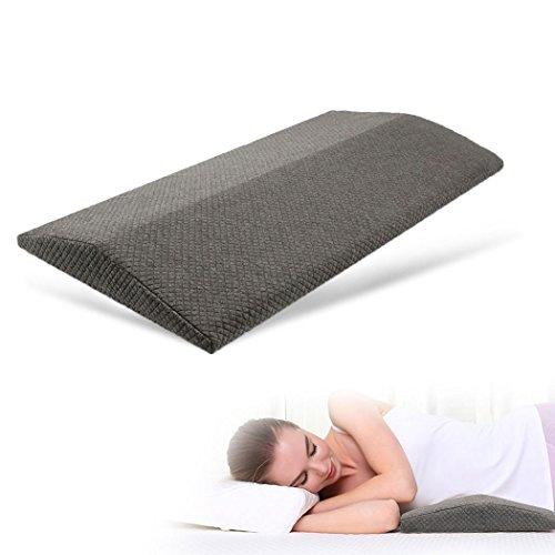 腰枕 低反発三角まくら クッション 腰マクラ 安眠サポート 腰痛対策 体圧分散 足枕 足のむくみ 足腰枕 膝枕