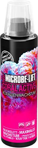 MICROBE-LIFT Coral Active Booste la Croissance des Coraux/L'Éclat de Leurs Couleurs/pour Tous Les Aquariums d'eau de Mer 236 ML