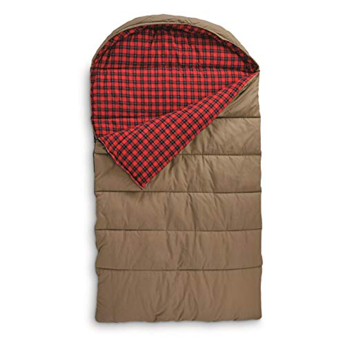 Guide Gear Canvas Hunter Double Sleeping Bag, 0°F