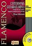 HERRERO Oscar - Estudios (12) (Nivel Superior) para Guitarra Flamenca (Inc.CD)