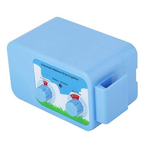 Watertimer Automatisch sproeisysteem, automatische druppelirrigatiekit, batterijen of USB-oplaadfunctie Waterpomp-timer voor thuis, tuin, kantoor Potplanten en containers Planten water geven