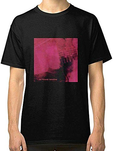 LUQ Loveless My Bloody Valentine Men's T-Shirts Black