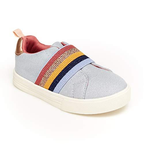 OshKosh B'Gosh girls Sneaker Sneaker Grey/Multi 8 medium US