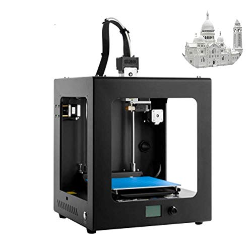 3D Printer,3d drucker Core XYZ Structure with Industrial Linear Guide,APP monitoring, wireless printing 200 * 200 * 200m,Safe for Home and Industrial Use