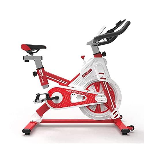 Bicicleta de ejercicio Inicio Equipo de la gimnasia con la aplicación de control de Smartphone ultra silencioso Bicicleta que hace girar Profesional Máquinas de ejercicios, Video de Entrenamiento y Co